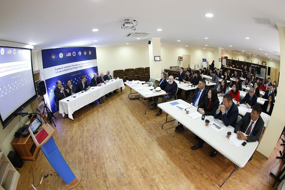 AmCham Mongolia and U.S. Department of Commerce host two-day intellectual property rights seminar